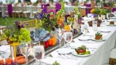Як правильно підібрати меню на весілля