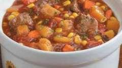 Як приготувати м`ясне рагу з овочами