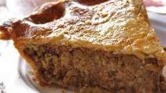 Як приготувати пиріг з листкового тіста з фаршем: прості і складні рецепти