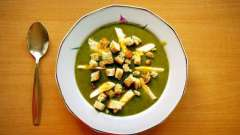 Як приготувати смачний щавельного суп