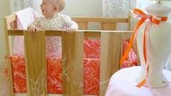 Як зробити бортики в дитяче ліжечко своїми руками? Рекомендації для молодих батьків