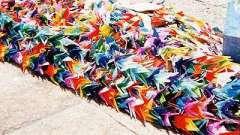 Як зробити пташку з паперу? Журавлик щастя