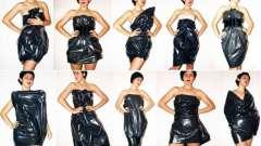 Як зшити плаття з пакетів
