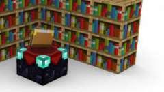 """Як в """"майнкрафт"""" зробити книжкову полицю і яка від неї користь?"""