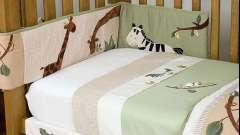Як вибрати бампер в дитяче ліжечко і як зшити його своїми руками