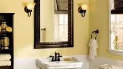 Як виконати ремонт в маленькій ванній кімнаті