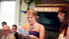 Яким має бути привітання матері на весіллі сина?