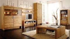 Який вибрати колір дерева для меблів?
