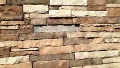 Камінь фасадний: виготовлення, укладання