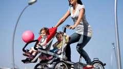 Коляска-велосипед - зручно і практично