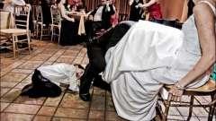 Конкурси смішні на весіллях: тонкощі проведення та сценарії