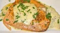 """Червона риба в мультиварці """"редмонд"""": як приготувати з вершковим соусом"""