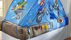 Краса і затишок - балдахіни для дитячого ліжечка