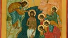 Водохресна молитва. Молитви на хрещення господнє