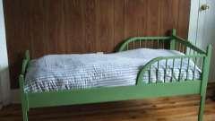 Ліжко дитяче з бортиком від 2 років. Як вибрати ліжечко для дитини?