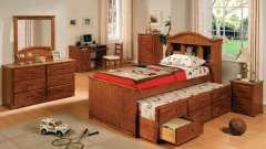 Ліжка дитячі висувні - оригінальне оформлення дитячої кімнати