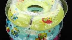 Коло для купання немовлят: з якого віку використовувати і як починати?