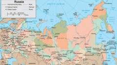 Найбільші міста росії. Карта росії - великі міста