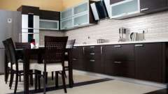 Кухня венге - стиль і затишок
