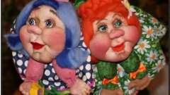 Лялька-попик своїми руками
