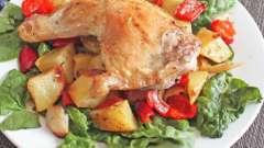 Курка з овочами в мультиварці - ситне блюдо для всієї родини!