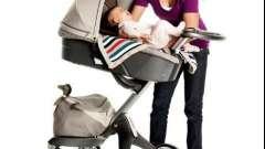 Люльки для колясок новонароджених: основні вимоги