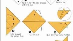 Майстер-клас: як робляться в стилі орігамі з паперу тварини