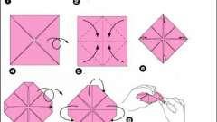 Майстер-клас, як зробити лотос-орігамі