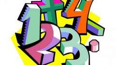 Математичні ігри для 1 класу. Розвиваючі математичні ігри для дітей