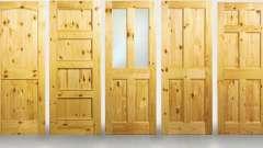 Міжкімнатні двері з масив сосни
