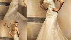 Модні тенденції. Весільна сукня: колір айворі
