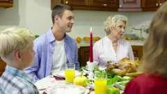 Молитва перед їжею: прохання і подяку