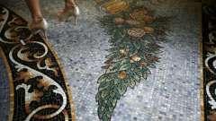 Мозаїчні підлоги - справжнє прикраса будь-якого приміщення