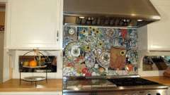 Мозаїка для кухні: властивості і різновиди. Як правильно використовувати мозаїку для кухні