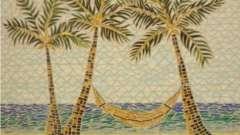 Мозаїка з битою плитки, своїми руками викладена