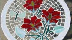 Мозаїка зі скла в домашньому інтер`єрі