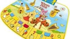 Музичні килимки - корисні розвиваючі іграшки