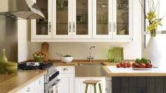 Навісні шафи для кухні: цікаве рішення для зберігання дрібниць