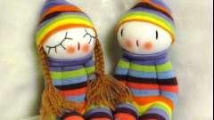 Нове життя старої речі, або ляльки своїми руками з шкарпеток