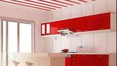 Оздоблення кухонь: пластикові панелі або кахель