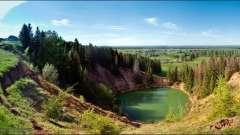 Озеро морське око - перлина марійської республіки