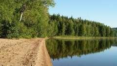 Озеро тиберкуль: опис та риболовля