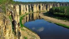 Падіння річки. Лена - найбільша річка східної сібіру. Ухилу, описание, характеристика