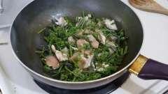 Папороть: рецепт з картоплею і м`ясом