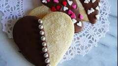 Печиво до дня святого валентина. Рецепти