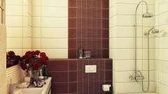 Плитка керамічна для ванної кімнати - обробка, перевірена часом