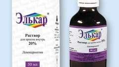 Показання до застосування препарату «елькар» для дитини. Відгуки фахівців