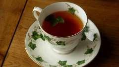 Корисний і смачний чай з листя смородини