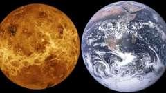Поверхня венери: площа, температура, опис планети