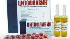 Препарат «цитофлавин»: аналоги і захворювання, при яких вони застосовуються